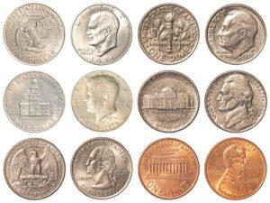 Monety dolara amerykańskiego