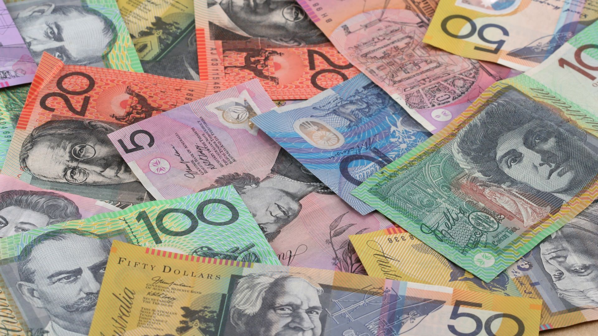 Banknoty Dolar australijski