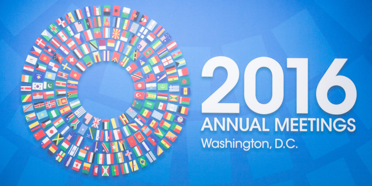 IMF - 2016 Annual Meeting