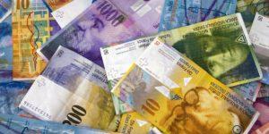 Banknoty CHF
