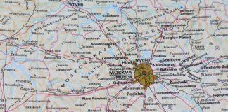 Moskwa mapa