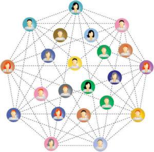 sieć zdecentralizowana