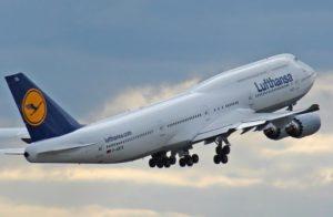 Lufthansa samolot