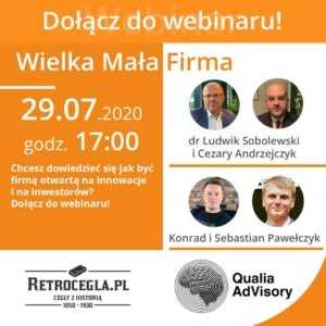 Wielka Mała Firma - webinar 29.07
