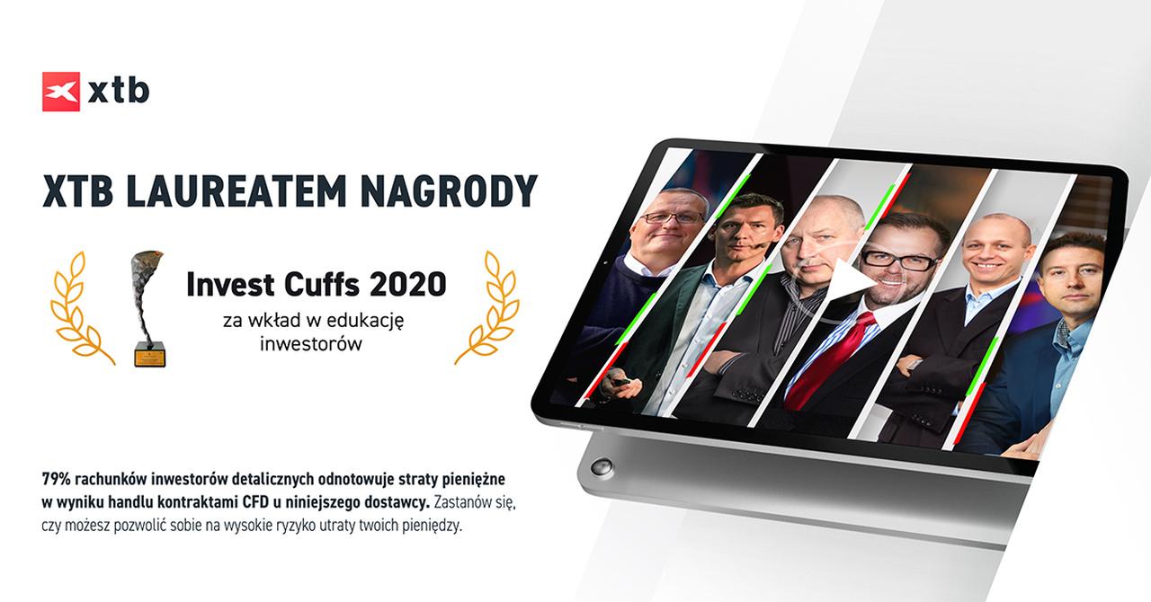 XTB Laureatem Nagrody Invest Cuffs 2020