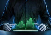 Wykres symulujący krzywą zysku z backtestu strategii