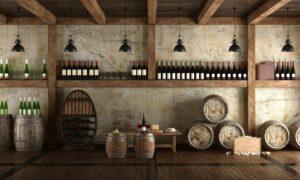 Piwniczka na drogie wino kolekcjonerskie