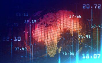 Grafika prezentująca globalny rynek Forex